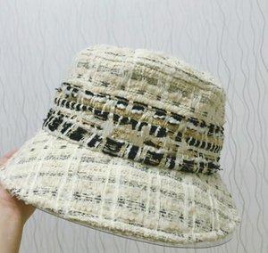 2021 En Son Moda Marka Tasarımcılar Erkekler Kadınlar için Kova Şapka Kap Beyzbol Kapaklar Beanie Casquettes Balıkçı Kovalar Şapka Patchwork Klasik En Kaliteli Güneş Visor