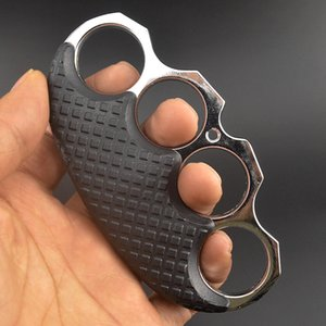 Clamp anti-slip metal finger tiger safety defense four finger knuckle weapon self-defense equipment bracelet EDC bracelet tool HW99