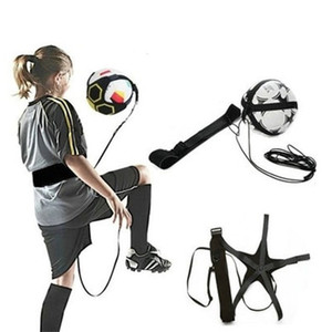 Soccer Ball Juggle Bags Children Auxiliary Circl Belt Kids Football Training Equipment Solo Soccer Trainer Football Kick Juggle Bag 87 W2