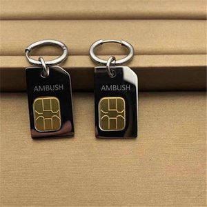 New Emboscada Um Par Brinco Metal Carto De Telefone Chip Eardrop 2.5cm * 1.5cm 2021 L4ij