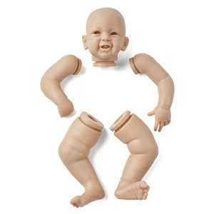 RBG DIY LOL Reborn Baby Dolls 21 Inches Phoenix Newborn Bebe Vinyl Unpainted Unfinished Parts Blank Toys New Year Gift 0222