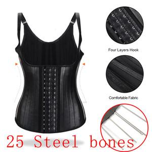Belt Slimming Shapewear Women Latex Trainer Tummy Control Waist Cincher Shaper CX2007153YQK
