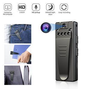 Mini photo numérique portable portable portable 1080p HD vidéo enregistreur enregistreur enregistreur Security Security peut être utilisé comme caméra web webcam USB