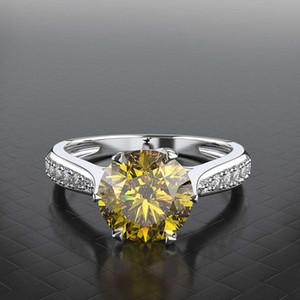 HBP Fashion Shipai Straight Zircon donna semplice e atmosferica a mano gioielli proposta anello regalo