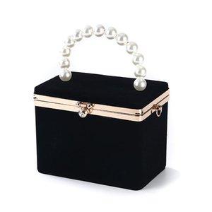 Designers Bag Luxurys Clutch Wristlet Bags Party 2020 Classy Velvet Party Evening For Handle Women Cabn Purse Vintage Wedding Handbag P Fbci