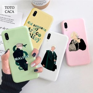 Draco Malfoy Pink White Phone Case for Samsung S8 S9 S10 S20 Plus Case for Galaxy A10 A20 A30 A50 A51 A70 Funny Back Cover Ins