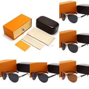 Brand Design Luxus Sonnenbrille für Herren 5colors Mode Klassische UV400 Hohe Qualität Sommer Outdoor Driving Beach Freizeit