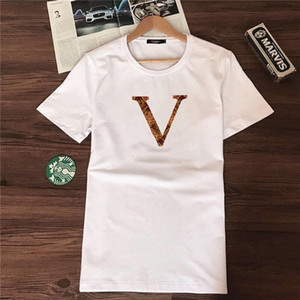 2020 Designer Stripe Chemise T-shirt T-shirts Snake Polos Bee Broderie Florale Hommes Mode Tree Designer Tees Shorts Manchon Vêtements T-shirts 21s