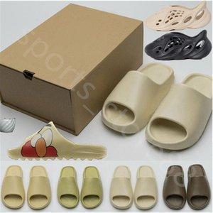 2021 2022 TOP Kanye west 700 v3 Summer Beach slipper foam runner hole Slides Bone sandal Children shoes boy girl youth kid