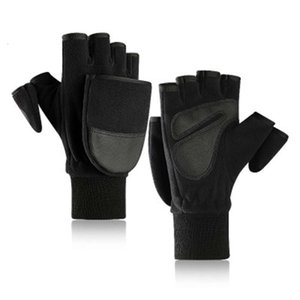 2020 New Winter Fleece warm gloves for men