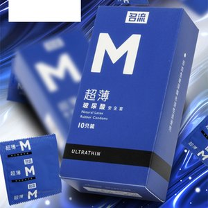 M 004 ultra-thin Sex Products lubrications for men and women 10 pack Rubber sleeve