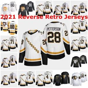 2020-21 retro retro Sidney Crosby Jersey Pittsburgh Penguins Jake Guentzel Evgeni Malkin Phil Varone Bryan Rust Kris Letang Casey Desmith
