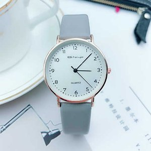 Korean version of primary and middle school students' watches girls' boys' trend simple leisure children's quartz