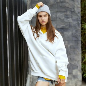 In autumn and winter of 2020, the new fashion brand men's wear in Europe and America street people loose blank sweater plus large size long
