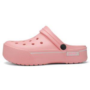 Summer Women sandals Platform Clogs Outdoor Garden Shoes Female Pool Sandals Bathroom Flip Flops Mules Beach sandals J2023