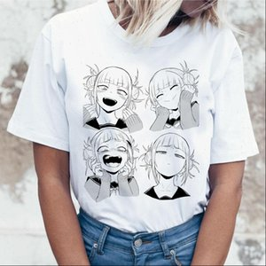 New Female Cartoon T Shirt Women Harajuku Boku No Hero Academia Anime T shirt Senpai Funny Tshirt Hentai Himiko Top Tees