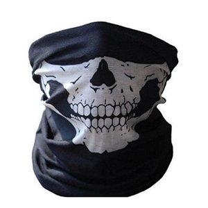 Unisex Cosplay Bicycle Ski Skull Half Face Mask Ghost Scarf Bandana Neck Warmer Party Headband Magic Turban Balacl jllmgK ladyshome