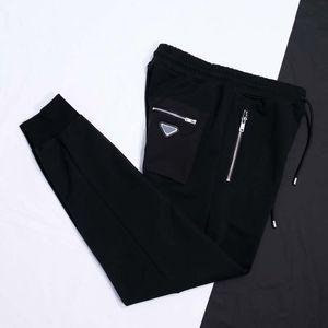 21ss France Mens designer pants fashion Italy pant triangle fabric men women casual cotton Baseball pants blue black