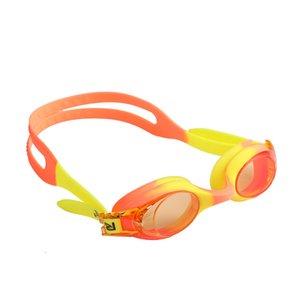 Adjustable Children Kids Waterproof Silicone Pool Goggles Anti Fog UV Protection Swimming Glasses Eyewear Eyeglasses with Box