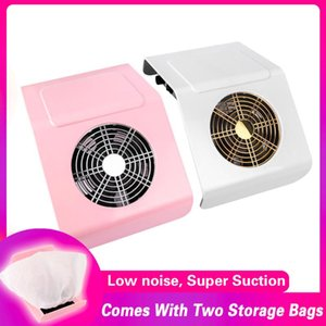 Nail Art Equipment 40W Strong Power Suction Dust Collector Vacuum Cleaner Fan Salon Manicure Machine