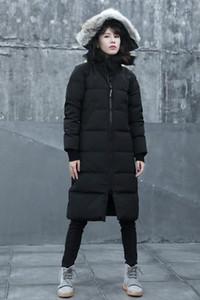 TC85 waterproof X-Long jackets with coyote fur trim keep warm MYSTIQUE down parkas with ykk zipper 3M Composite Velcro