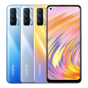 "Original Realme V15 5G Mobile Phone 6GB RAM 128GB ROM MTK 800U Android 6.4"" Full Screen 4310mAh 64MP Face ID Fingerprint Smart Cell Phone"