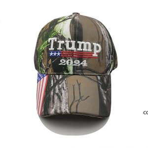 Donald Trump 2024 Hat Camouflage US Election Baseball Cap Party Hats DHA7639