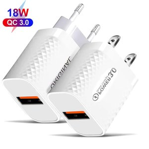 White Fast Quick Charger Wall Charger EU US Ac Power Adapters For Iphone 7 8 11 Samsung Lg Android phone pc