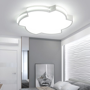 led ceiling lamp flower type simple modern creative bedroom lamp warm color warm and romantic second bedroom lamp hot wheel lamps R119