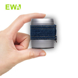 EWA A113 LEVI Denim Mini Bluetooth Speaker Portable Wireless for Outdoor Indoor Camp Travel Heavy Bass Box Support TWS