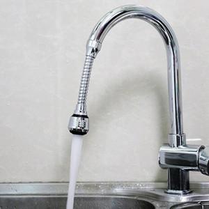 Ajuste de 360 graus Faucet de cozinha Tubo de extensão do banheiro Extensão de água Torneira de água Filtro de água Espuma Faucet Acessórios Owf5296