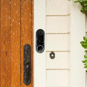 Doorbells Silicone Protective Case For Nest Video Doorbell Weather Resistant Night Vision Leather Cover Security Alarm Type Equipment