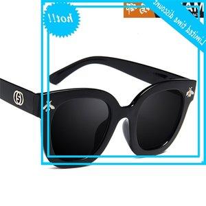 Gafas de sol decorativas de moda de moda de nueva moda 5167 gafas cuadradas grandes de las mujeres