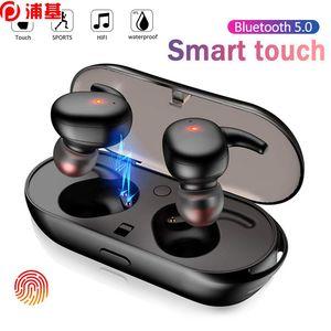 Y30 TWS اللاسلكية Blutooth 5.0 سماعة إلغاء الضوضاء سماعة 3D ستيريو الموسيقى الصوت في الأذن سماعات الأذن لالروبوت ios الهاتف الخليوي