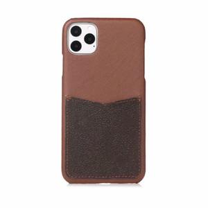 Coque Téléphone de Deluxe de mode pour iPhone 12 11 12Pro 11Pro x xsmax xr 8plus de qualité supérieure de la carte de poche Couverture de téléphone pour iPhone 11