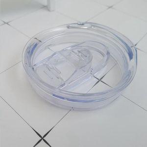 Сменная герметичная пластиковая крышка для сублимации 20 унций прямой или конической точечной нержавеющей стали Tumblers 20 унций чашки DHL
