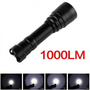 Waterproof High Power Underwater 150m 1000Lm XM-L2(U2) Handheld Diving Lamp Torch + 18650 Battery + Charger