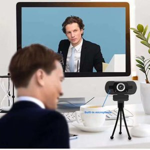 Webcams USB HD 1080P Webcam With Microphone Computer PC Web Camera Free Drive Digital Video Recorder For Home Office
