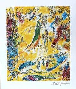 Marc Chagall Müzik Ev Dekor Sihirbaz El Sanatları / HD Baskı Yağlıboya Tuval Duvar Sanatı Resim 210305