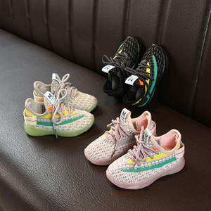 2021 Kids Designer Sneakers West Shoes for Boys Girls Teens Active Breathable Running Shoes Eur 22-35 for Kids GC66