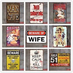 Металлическая картина олова Знак Добро пожаловать в Лас-Вегас с сексуальными дамами чашами Знаки для бар Паб кофе казино клуб настенный художественный декор железа до BLZB