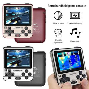 휴대용 레트로 핸드 헬드 게임 콘솔 + 32G 메모리 카드 클래식 향수 조이스틱 Joypads 게임 플레이어 용 배터리 내장 배터리