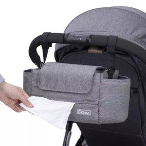 Sacs de poussettes de bébé orzbow Portable Baby Diaper Sacs Organisateur Grand Newbron Nappy Nappy Maman Sac de maternité pour bébé Care 210305