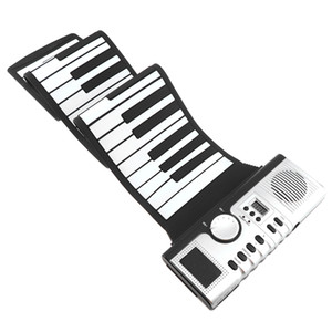 USB 61 88 Keys Roll Up Flexible Piano Silicone Portable Foldable Soft Keyboard Electronic Piano Instrument