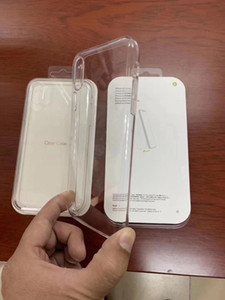 Original Official Style Clear Apple Case For iPhone 12 11 Pro Max X XS MAX XR Case For iPhone 7 8 Plus transparent Cover with Retail Box