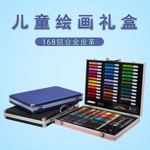 Pincel Acuarela Pluma Conjunto Productos para niños Niños Kindergarten Arte Herramientas Crayon Set Pintura
