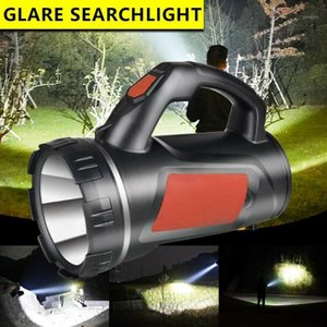Portable Lanterns WAKYME Ultra Powerful Rechargeable LED Torch 1200mAh Work Light Spotlight Searchlight Camping Lantern1
