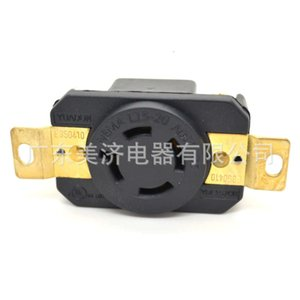 American Standard American three phase four wire 20A high power concealed locking industrial socket NEMA l15-20r