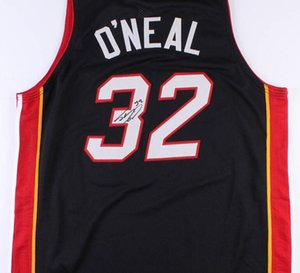 o neal red black Signed signatured Autographed Auto jersey shirts