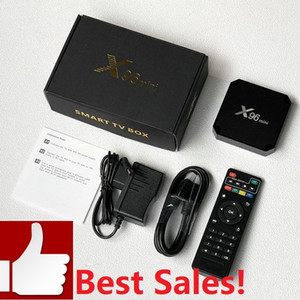 Smart TV Box X96 Mini Android 9.0 Amlogic S905W Quad Core с WiFi 2.4GHz 1G + 8G / 2 + 16G медиаплеер